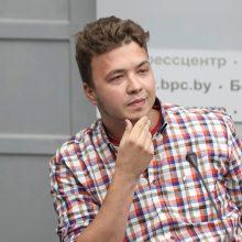 Baltarusijos žurnalistė per R. Pratasevičiaus spaudos konferenciją: netikiu nė vienu žodžiu