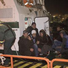 Per dvi Kalėdų dienas prie Ispanijos krantų išgelbėti 300 migrantų