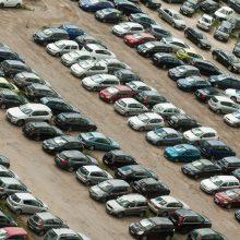 Šiemet Lietuvoje pirmą kartą registruota 163 tūkst. naudotų lengvųjų automobilių