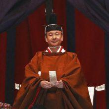Japonijos imperatorius Naruhitas oficialiai paskelbė įžengęs į sostą