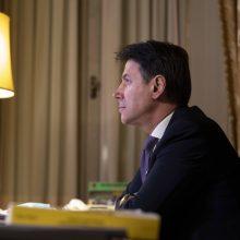 Atsistatydino Italijos premjeras G. Contė, prezidentas pradeda konsultacijas