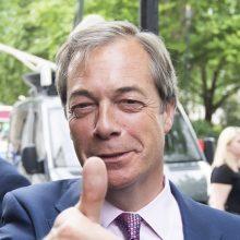 Išstojimo iš ES šalininkas N. Farage