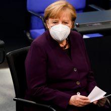 A. Merkel: Holokausto atminimas – amžina Vokietijos atsakomybė