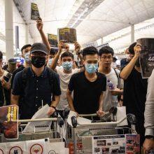Honkongo protestuotojų portretas: jauni, išsilavinę ir įtūžę