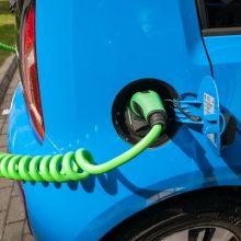 Už įsigytą elektromobilį bus kompensuojama dalis išlaidų
