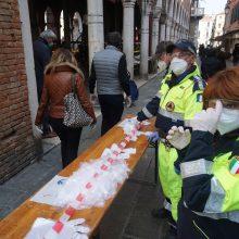 Italijos sveikatos apsaugos ministras prabilo apie sugrįžimą prie įprasto gyvenimo