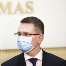 A. Dulkys: daugelis žmonių jau net bijo kreiptis į gydymo įstaigas dėl kitų ligų