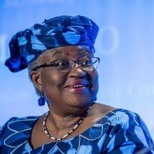 Naująja PPO vadove tapo Nigerijos ekonomistė N. Okonjo-Iweala