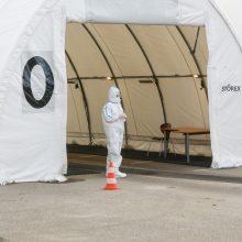 Vilniuje plečiamos testavimo apimtys – tirtis gali visi dirbantys kontaktinį darbą