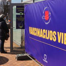 SAM: jau paskiepyta 15 procentų Lietuvos gyventojų