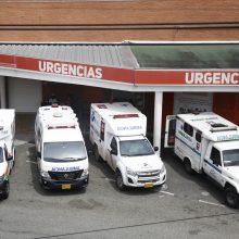 Kolumbijoje antrą dieną paeiliui fiksuojamas rekordinis mirčių nuo koronaviruso skaičius