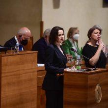 S. Cichanouskaja reikalauja tarptautinio tribunolo A. Lukašenkai teisti