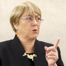 Jungtinių Tautų komisarė: klimato kaita yra didžiausias pavojus žmogaus teisėms