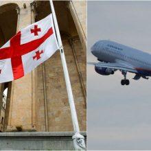 Maskva yra pasiruošusi atnaujinti oro susisiekimą su Sakartvelu