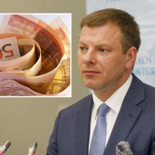 V. Šapoka: ekonomikos nuosmukis šiemet turėtų siekti apie 1,5 proc.