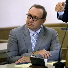 JAV prokurorai nutraukė bylą aktoriui K. Spacey