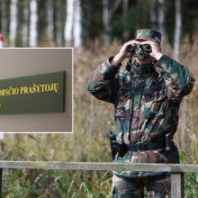Zarasų rajone sulaikyta dar penkių migrantų grupė