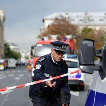 Prancūzijoje sulaikytas muziejuje užsibarikadavęs vyras