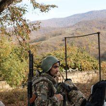 Kalnų Karabacho vadovas: prie svarbaus Šušos miesto artinasi Azerbaidžano pajėgos