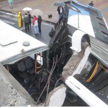 Brazilijoje per autobuso avariją žuvo devyniolika žmonių, dar dešimtys nukentėjo