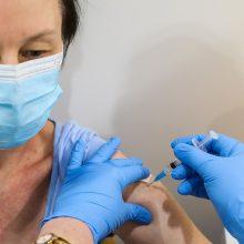 Vakcinacija nuo COVID-19: šešiose savivaldybėse jau paskiepyta pusė ir daugiau gyventojų