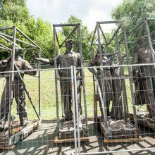Nacionalinis muziejus Žaliojo tilto skulptūras ketina eksponuoti buvusioje areštinėje