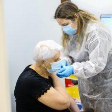 SAM leido pirmai ir antrai skiepo nuo COVID-19 dozei naudoti skirtingas vakcinas