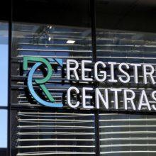 Mažės dauguma Registrų centro paslaugų įkainių