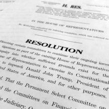 JAV demokratai planuoja rengti atvirus prezidento apkaltos tyrimo posėdžius