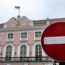 Estijos parlamentas pasmerkė Rusijos poziciją dėl Antrojo pasaulinio karo istorijos