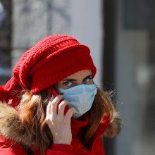 Rusijoje koronavirusu užsikrėtusių žmonių skaičius viršijo 1,8 tūkst.
