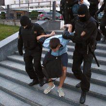 Baltarusijos VRM: sekmadienį per protestus sulaikyti 774 žmonės