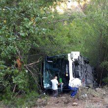 Nelaimė Turkijoje: per autobuso avariją sužeisti 25 turistai