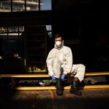 Belgijoje per parą mirė rekordinis koronavirusu užsikrėtusių pacientų skaičius – 283