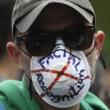 JT ragina įšaldyti veidų atpažinimo technologijų naudojimą prieš protestuotojus