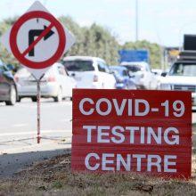 Naujosios Zelandijos premjerė: sienos nebus atidarytos, kol pasaulyje nebus suvaldyta pandemija