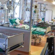 Ligoninėse gydomi 1002 COVID-19 pacientai, iš jų 98 – reanimacijoje