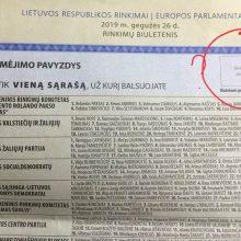 Užsienio lietuviai sutrikę: galioja balsavimo biuletenis be antspaudo ar ne?