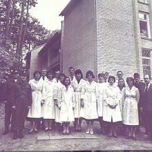Pradžia: pirmieji Dr. Jono Basanavičiaus karo medicinos tarnybos darbuotojai 1991 m.