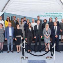 Solidi verslo investicija Marijampolėje: duotas startas naujai gamyklai statyti