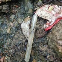 Sprogmenų išgarsintame Aleksoto upelyje – naujas pavojingas radinys