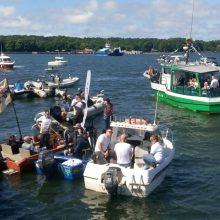 Į žvejų mitingą Klaipėdoje – iš visos Lietuvos