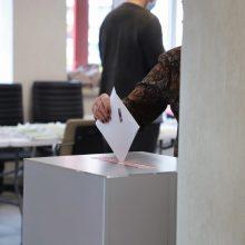 Radviliškio gyventojai renka naują merą: jau balsavo 10,53 proc. rinkėjų