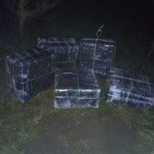 Iš Rusijos cigaretes kontrabandininkai atplukdė Vištyčio ežeru