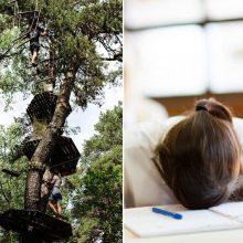 Nuotykių parke susižalojusios paauglės vargai tęsiasi: mokytis teks namuose