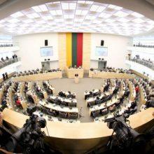 Opozicija blokavo pataisas dėl baudų atsisakantiems liudyti parlamentiniams tyrimams