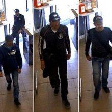 """""""Senukuose"""" siautėjo vagys – policija prašo padėti atpažinti šiuos vyrus"""