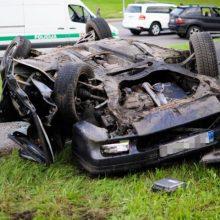 Panevėžio rajone per avariją žuvo vairuotojas