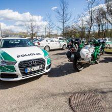 Draugiškame vairuotojų susitikime su Kauno pareigūnais – netikėtas svečias