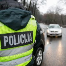 Savaitgalį užregistruota beveik 200 eismo įvykių: policija pradeda specialius reidus